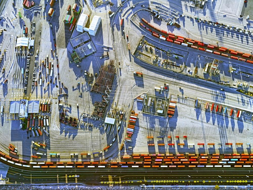 "Jeffrey Milstein<br /> <em>Container Port 22, </em>2014<br /> Archival pigment prints<br /> 30 x 40""  Edition of 10<br /> 40.5 x 54""  Edition of 10"