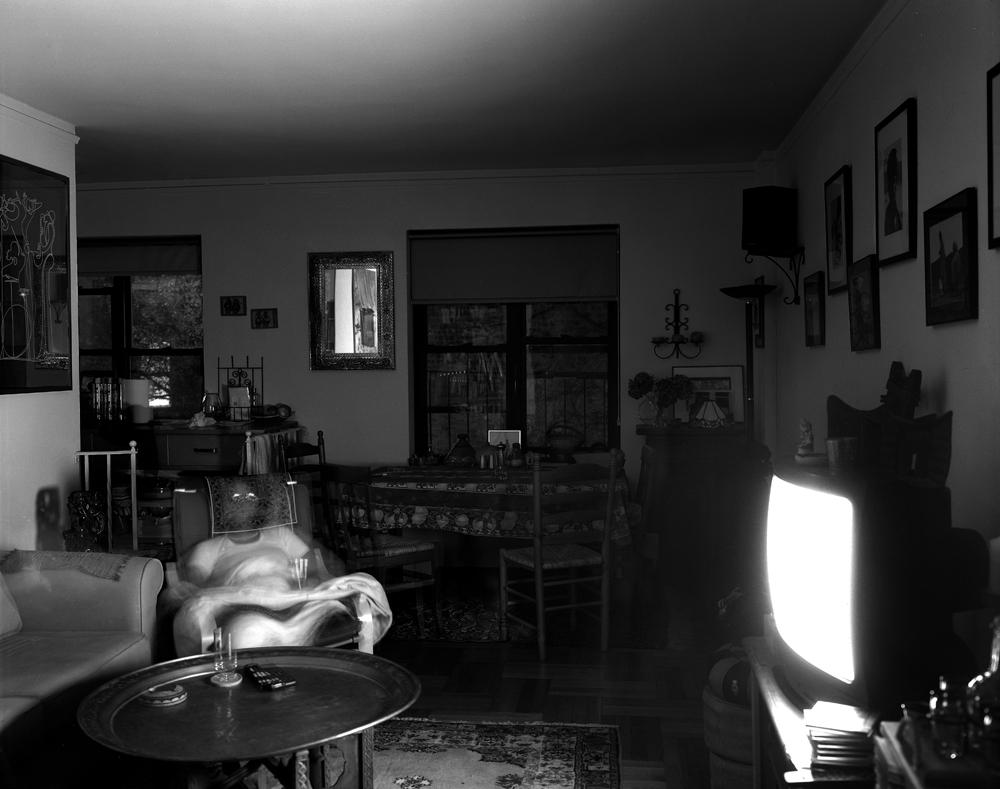 "Matthew Pillsbury<br /> <em>Marta Bekele Roman, Emeril Live, Wednesday, November 13, 2002, 7-7:55pm</em><br /> Archival pigment ink prints<br /> 13 x 19"" Edition of 20<br /> 30 x 40"" Edition of 10<br /> 50 x 60"" Edition of 3"