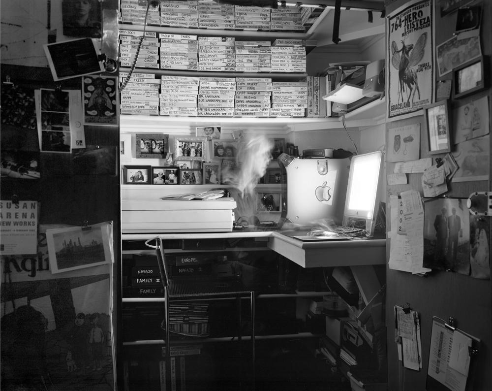 "Matthew Pillsbury<br /> <em>Lois Conner, Thursday, Febuary 6, 2003, 7:20-8pm</em><br /> Archival pigment ink prints<br /> 13 x 19"" Edition of 20<br /> 30 x 40"" Edition of 10<br /> 50 x 60"" Edition of 3"