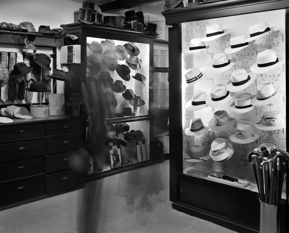 "Matthew Pillsbury<br /> <em>Deon Steyn, James Lock & Co., London, </em>2007<br /> Archival pigment ink prints<br /> 13 x 19"" Edition of 20<br /> 30 x 40"" Edition of 10<br /> 50 x 60"" Edition of 3"