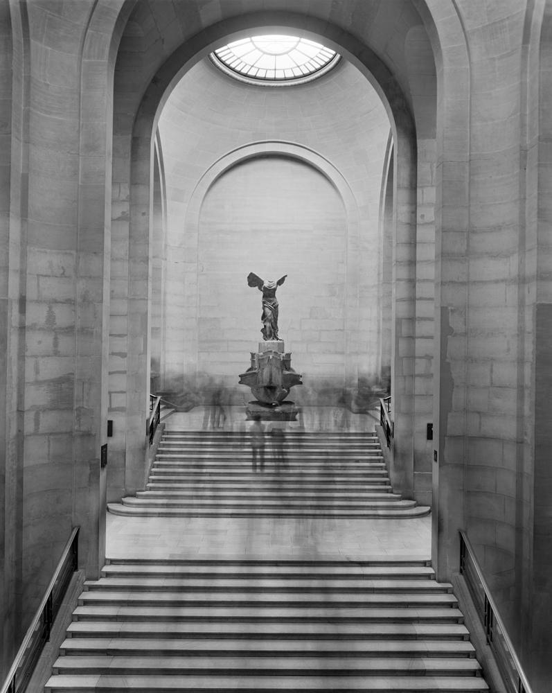 """Matthew Pillsbury<br /> <em>La Victoire de Samothrace, Le Louvre, </em>2008<br /> Archival pigment ink prints<br /> 19 x 13"""" Edition of 20<br /> 40 x 30"""" Edition of 10<br /> 60 x 50""""  Edition of 3"""