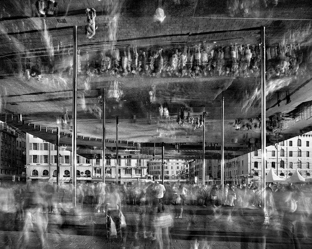 "Matthew Pillsbury<br /> <em>Ombriere, Vieux Port de Marseille, Saturday, September 14th, 2013</em><br /> Archival pigment ink prints<br /> 20 x 24"" - Edition of 10<br /> 30 x 40"" - Edition of 6 (plus 2 APs)<br /> 50 x 60"" - Edition of 2 (plus 1 AP)"
