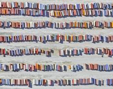 "Jeffrey Milstein<br /> <em>Container Port 37, </em>2014<br /> Archival pigment prints<br /> 21 x 48""  Edition of 10<br /> 28 x 64""  Edition of 10"