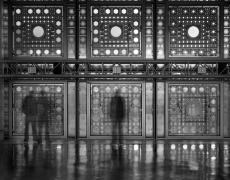 """Matthew Pillsbury<br /> <em>La Salle du Haut Conseil, Institut du Monde Arabe, Jean Nouvel, Architect, Paris,</em> 2008<br /> Archival pigment ink prints<br /> 13 x 19"""" Edition of 20<br /> 30 x 40"""" Edition of 10<br /> 50 x 60"""" Edition of 3"""