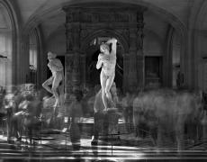 """Matthew Pillsbury<br /> <em>Les Esclaves de Michel Ange, Musee du Louvre, </em>2010<br /> Archival pigment ink prints<br /> 13 x 19"""" Edition of 20<br /> 30 x 40"""" Edition of 10<br /> 50 x 60"""" Edition of 3"""