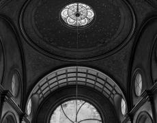 "Matthew Pillsbury<br /> <em>Eldridge Street Synagogue, New York, </em>2011<br /> Archival pigment ink prints<br /> 19 x 13"" Edition of 20<br /> 40 x 30"" Edition of 10<br /> 60 x 50"" Edition of 3"
